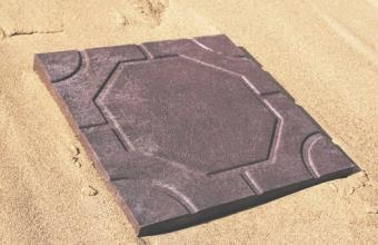 Тротуарная плитка «Modern Шоколад» 330Х330Х30 мм