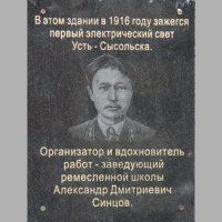 Ноябрь: Александр Синцов. Подаривший свет