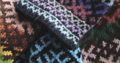 Вязанье с прутом