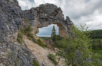 Автор Владимир Данько. Геологический памятник «Окно»