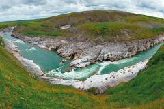 Автор Евгений Рожкин. Река Кара, водопад Буредан