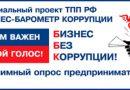 Предпринимателей Коми приглашают участвовать в «Бизнес-барометре коррупции»